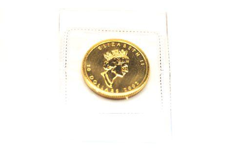 K24メープルリーフ金貨