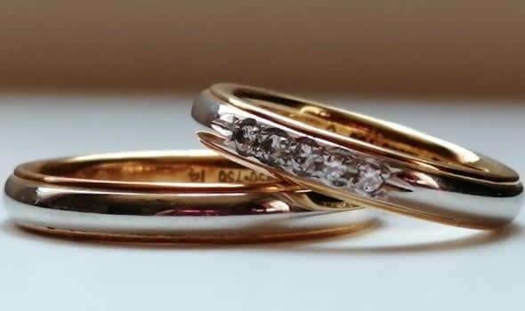 ダイヤの結婚指輪