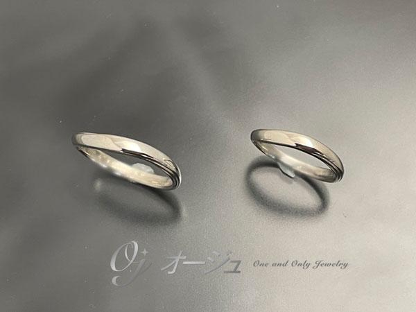 新品仕上げ後の結婚指輪