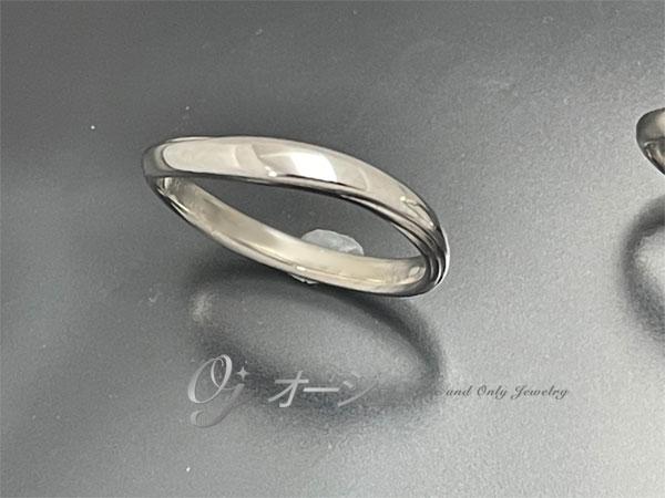指輪の新品仕上げ後