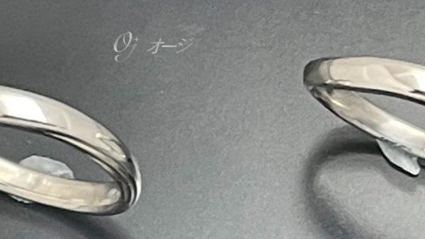 結婚指輪新品仕上げ