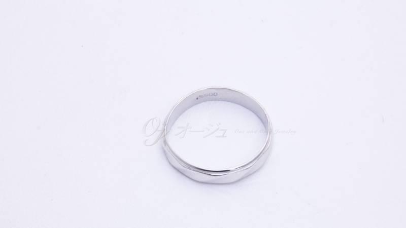 結婚指輪の修復後