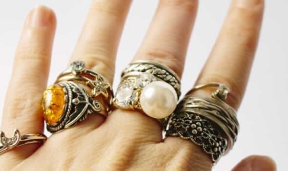 いろいろな指輪
